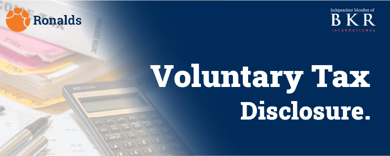 DEMYSTIFYING VOLUNTARY TAX DISCLOSURE PROGRAMME.