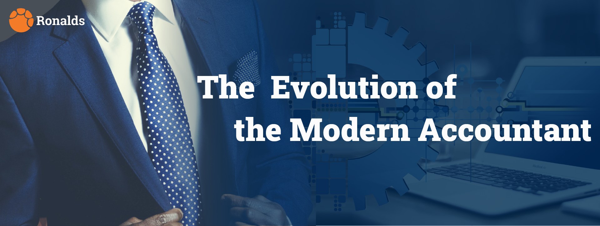 The evolution of the modern accountant.